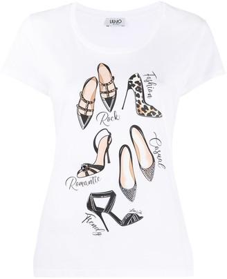 Liu Jo Shoe Style T-shirt