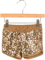 Little Marc Jacobs Girls' Sequined Shorts