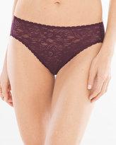 Soma Intimates Enticing Allover Lace High Leg Brief