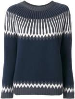 Antonia Zander intarsia-knit jumper