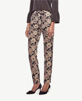 Ann Taylor Tall Gilded Blossom Ankle Pants