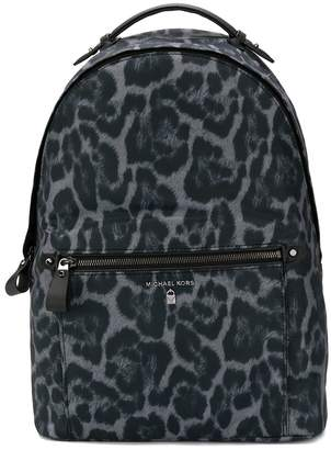 MICHAEL Michael Kors animal print logo backpack