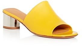 Clergerie Women's Lea Block-Heel Slide Sandals