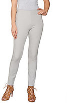 As Is Attitudes by Renee Stretch Knit Pull-on Ankle Pants