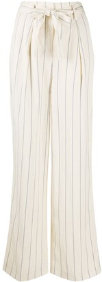 Seventy Striped Wide-Leg Trousers