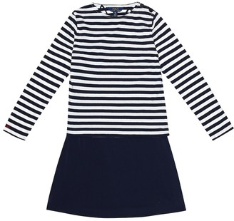 Polo Ralph Lauren Striped stretch-cotton dress