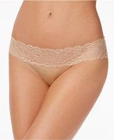 Calvin Klein Seductive Comfort Lace-Waist Bikini QF1200