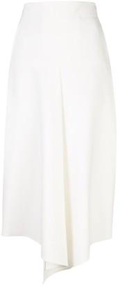 Tibi Anson Stretch Drape Skirt
