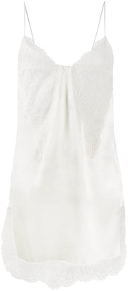 Philosophy di Lorenzo Serafini Lace-Detail Shift Dress
