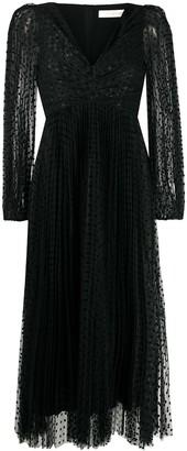 Zimmermann Polka-Dot Tulle Dress