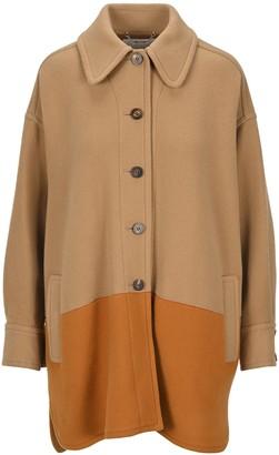 Chloé Two-Tone Oversized Jacket