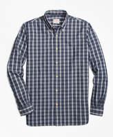 Brooks Brothers Check Chambray Sport Shirt