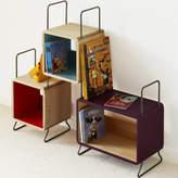 MOOD Kid's Ted Solid Wood Three Module Bookcase