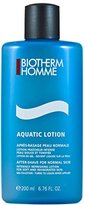 Biotherm Aquatic After Shave Lotion (Normal Skin) for Men, 6.76 Ounce