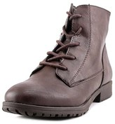 Style&Co. Style & Co Owinn Round Toe Leather Ankle Boot.