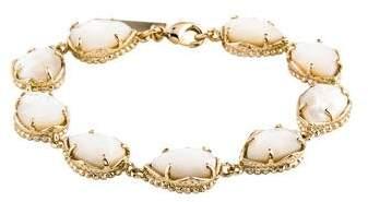 Kendra Scott Mother of Pearl Link Bracelet
