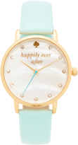 Kate Spade Bridal Capsule Leather Watch