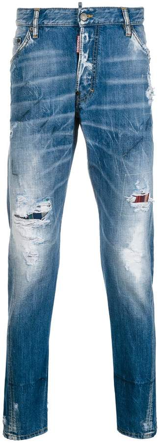 DSQUARED2 Classic Kenny distressed jeans