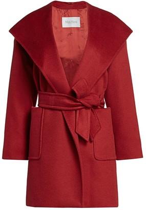 Max Mara Rialto Icon Wrap Coat