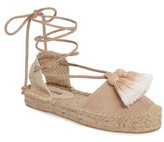 Soludos Women's Tassel Lace-Up Espadrille