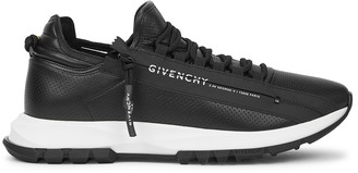 Givenchy Spectre black leather sneakers