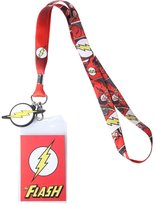 DC Comics Flash Comic/Logo Lanyard