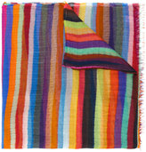 Faliero Sarti striped scarf - women - Silk/Modal - One Size
