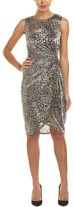 T Tahari Women's Metallic Bellini Dress