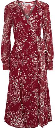 Reformation Susanna Floral-print Georgette Midi Dress
