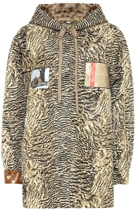 Burberry Printed nylon jacket