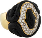 Ring Diamond & Enamel