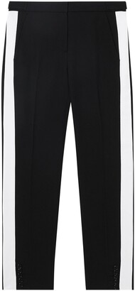 Burberry Side Stripe Tailored Trousers
