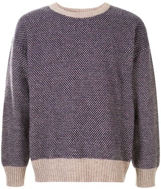 Kent & Curwen Tribal pattern jumper
