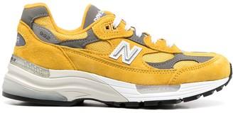 New Balance 992 Mesh Panel Low-Top Sneakers