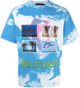 Alexander Wang postcard print T-shirt - men - Cotton - 46
