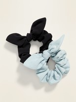 Old Navy Bow-Tie Scrunchie 2-Pack For Women