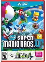 Nintendo New Super Mario Bros U + New Super Luigi U Wii U)