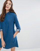 Jack Wills Maggie Chambray Shirt Dress