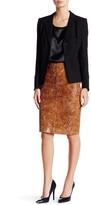 Lafayette 148 Modern Slim Skirt (Petite)