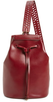 Stella McCartney Flo Convertible Faux Leather Backpack