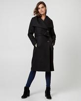 Le Château Melton Wool Belted Wrap Coat