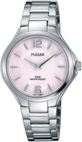 Pulsar Ladies Night Out Womens Mother-of-Pearl Bracelet Watch