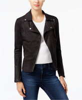 William Rast Wilde Faux-Suede Moto Jacket