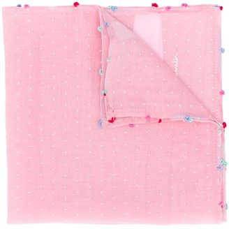 Paul Smith Pin Dot pocket square
