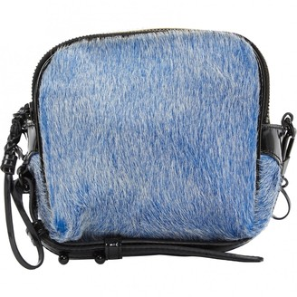 3.1 Phillip Lim Blue Patent leather Handbags