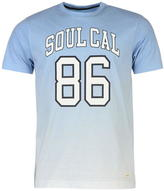 Soulcal Deluxe Gradient Print T Shirt