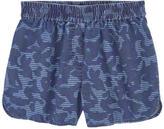 Stella McCartney Mini Me printed chambray shorts
