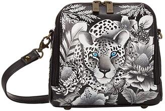 Anuschka Zip Around Travel Organizer - 668 (Cleopatra's Leopard) Handbags