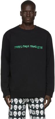 Vyner Articles Black Basic Sweatshirt