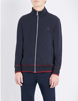 Paul Smith Zip-through cotton-jersey jacket